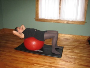Ball Exercises for Abdominals