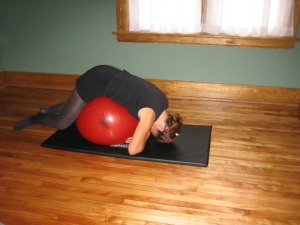 Ball Exercises for De-Stressing