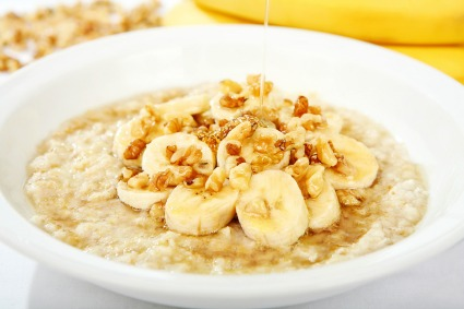 Bananas Oatmeal Cereal