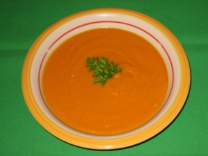 Diet Carrot Ginger Soup
