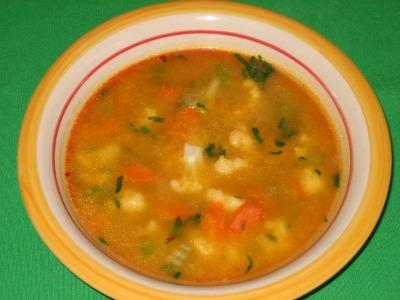 Diet Cauliflower Soup