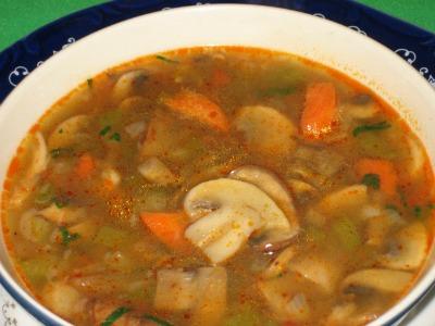 Diet Mushroom Soup