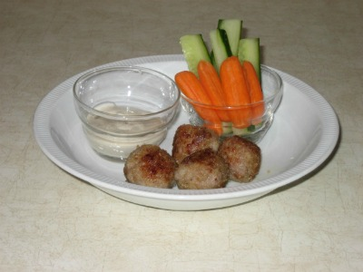 Mini Meatballs for Kids