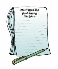 Motivation Work Sheets