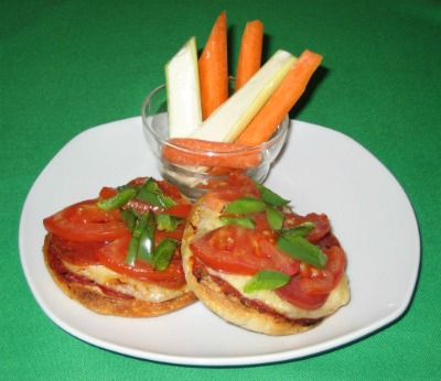Kids Mini Pizza Recipe