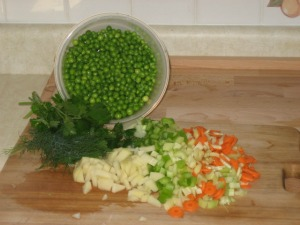 Green Pea Soup Ingredients