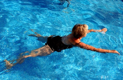 Swimming for healthy weight loss