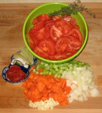 Diet Tomato Soup Ingredients