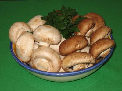 Diet Mushroom Soup Ingredients