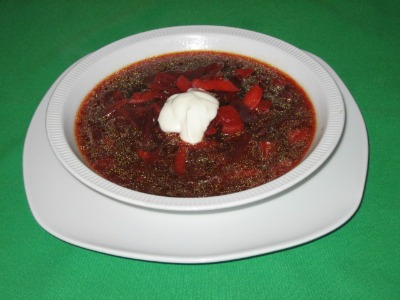 Diet Beet Soup