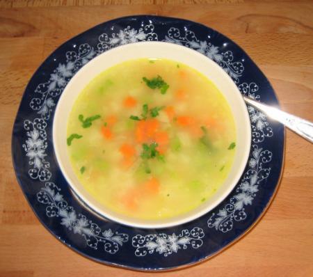 Diet Kohlrabi Soup